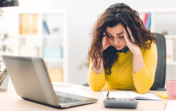 Computer Time Can Lead to Eye Strain, Headache & Facial Pain